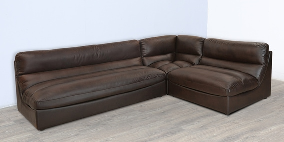 buy violina sectional sofa in durban rust colour by home online rh pepperfry com
