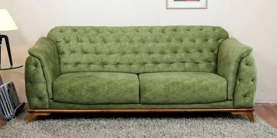 Vitoria 3 Seater Sofa In Green Colour