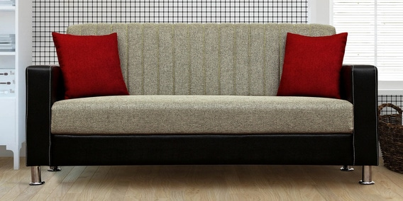 Remarkable Viva 3 Seater Sofa In Brown Colour By Peachtree Machost Co Dining Chair Design Ideas Machostcouk