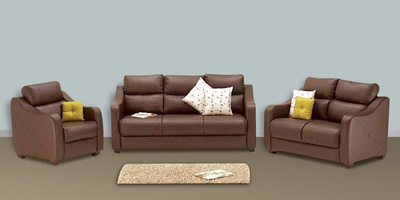 buy vida sofa set 3 2 1 seater in burgundy colour by godrej interio online sofa sets sofas