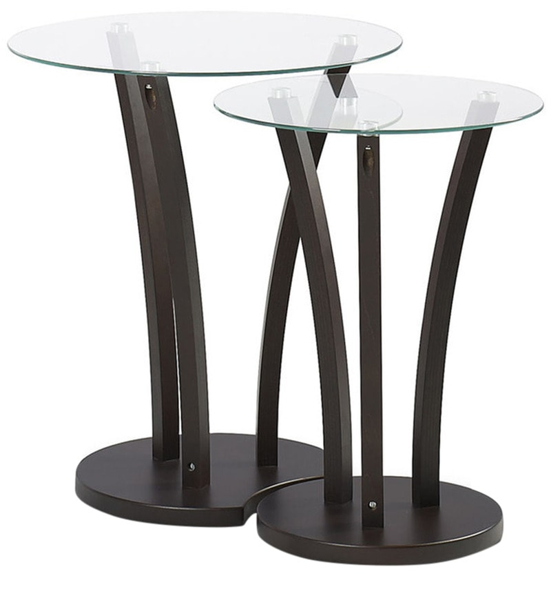 Viola Set of Tables in Wenge Finish by @Home