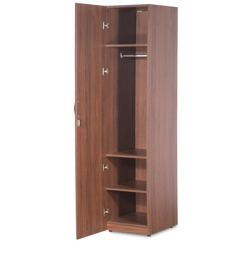 Buy Kitchen Furniture Online: Buy Viva Single Door Wardrobe Cincinnati Walnut Finish By