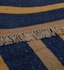 Carpet Overseas Multicolour Cotton 48 x 70 Inch Stripes Design Dhurrie