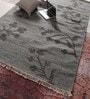Grey Wool 96 x 60 Inch Carpet by Vikram Carpets