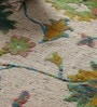 Multicolour Wool & Silk 96 x 68 Inch Hand Knotted Carpet by Vikram Carpets