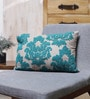 Blue Cotton 20 x 14 Inch Cushion Cover by Vista Home Fashion