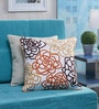 Multicolor Cotton 18 x 18 Inch Cushion Cover by Vista Home Fashion