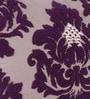 Purple Cotton 20 x 14 Inch Cushion Cover by Vista Home Fashion