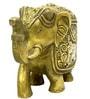 Vyom Shop Brass Elephant Showpiece