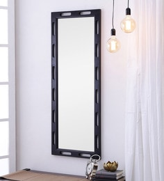 Warm Chestnut Sheesham Wood Rajputana Handcrafted Full Length Mirror