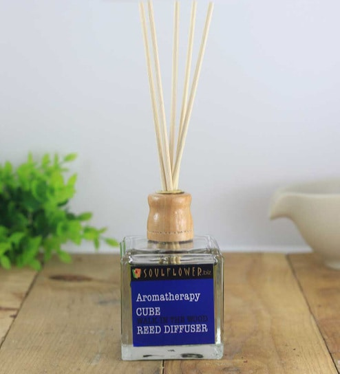 Walk In The Wood Cube Reed Diffuser