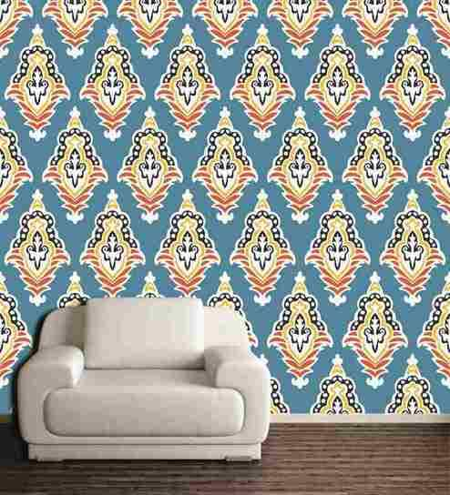 Wall Decor Pvc Free Wallpaper Patterned