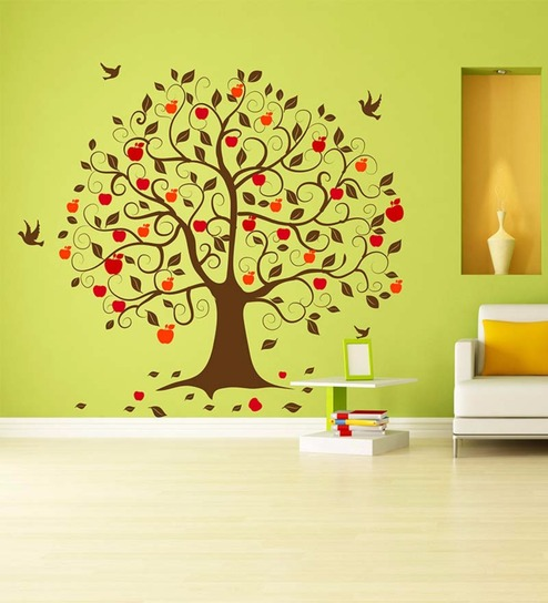 Vinyl autumn tree wall sticker by wallskin