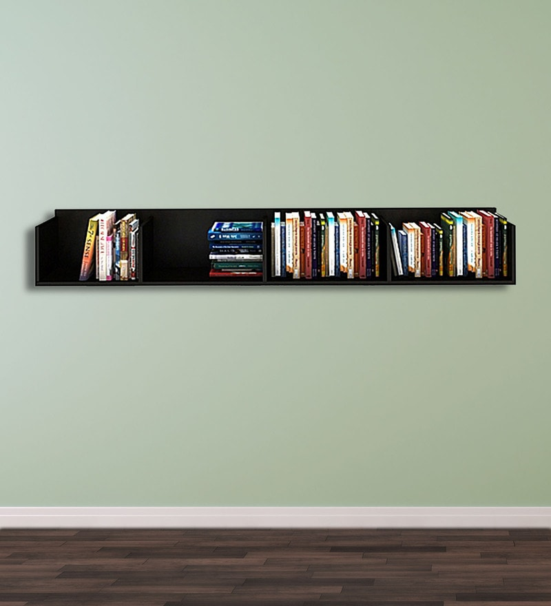Wall Shelf in Wenge Finish by Exclusive Furniture