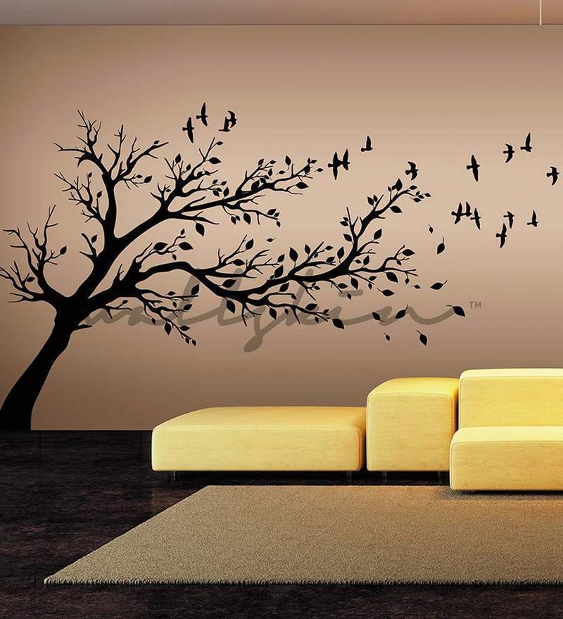 Wall decor stickers bunnings : Buy wallskin birds flying from tree vinyl wall sticker