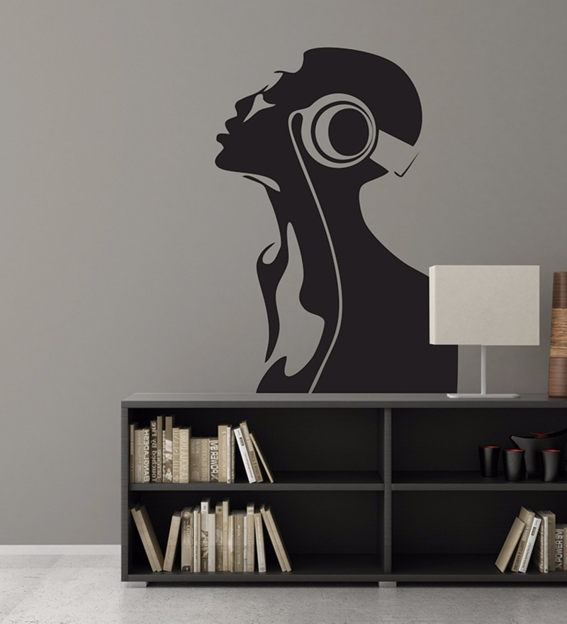 Vinyl All About Music Wall Decal by Wallskin