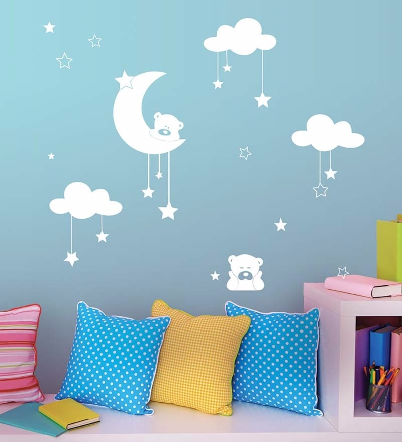 Vinyl The Magical Night Wall Decal by Wallskin