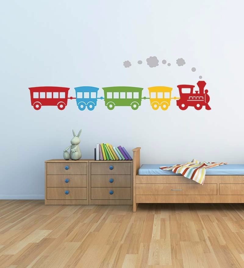 Vinyl The Wall Train Decal by Wallskin
