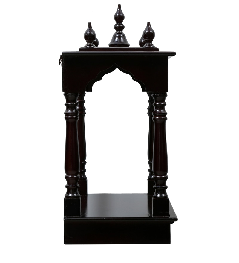 acaaabc4811 Buy Walnut Mdf   Mango Wood Handcrafted Home Temple By Homecrafts ...