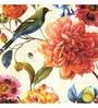 Canvas 24 x 24 Inch Bird Flowers Framed Digital Art Print by Wall Decor
