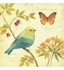 Wall Decor Canvas 24 x 24 Inch Birds Framed Digital Art Print