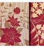 Wall Decor Canvas 24 x 24 Inch Floral Design Framed Digital Art Print