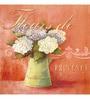 Wall Decor Canvas 24 x 24 Inch Floral Frame Framed Art Print