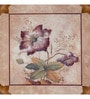Wall Decor Canvas 24 x 24 Inch Floral Framed Digital Art Print
