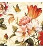 Canvas 24 x 24 Inch Flowers Framed Digital Art Print by Wall Decor