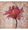 Wall Decor Canvas 24 x 24 Inch Pink Floral Framed Digital Art Print