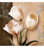 Wall Decor Canvas 24 x 24 Inch Tulips Framed Digital Art Print