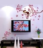 PVC Vinyl Baby Room Cute Monkey Sleeping on Branch Wall Sticker & Decal by WallTola