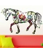 PVC Vinyl Ornamental Horse Wall Sticker & Decal by WallTola