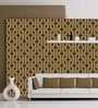 Brown Non Woven Paper The Tangled Pattern Wallpaper by Wallskin
