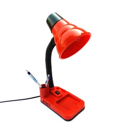 Study lamp online buy studydesk table lamps at best prices pepperfry red plastic study lamp mozeypictures Images