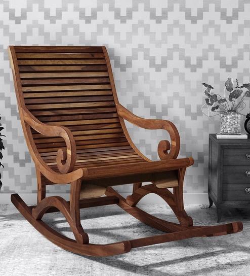 Wellesley Solid Wood Rocking Chair