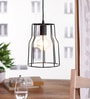 Mild Steel Filament Lamp by The Brighter Side