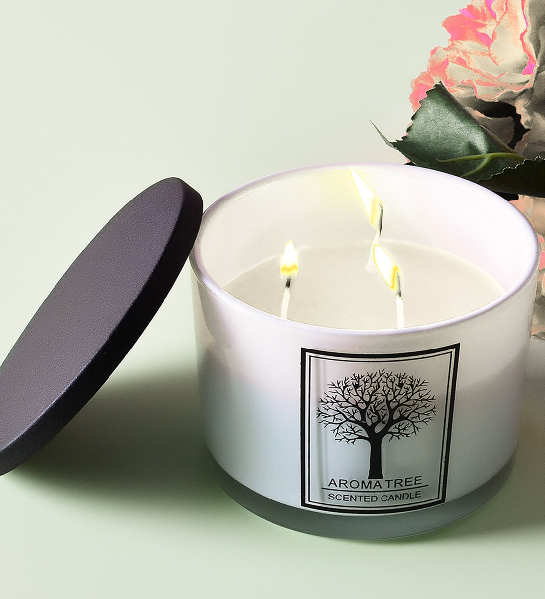 Buy White Vanilla Scented Candle By Archies Online Scented Candles Scented Candles Lamps Lighting Pepperfry Product