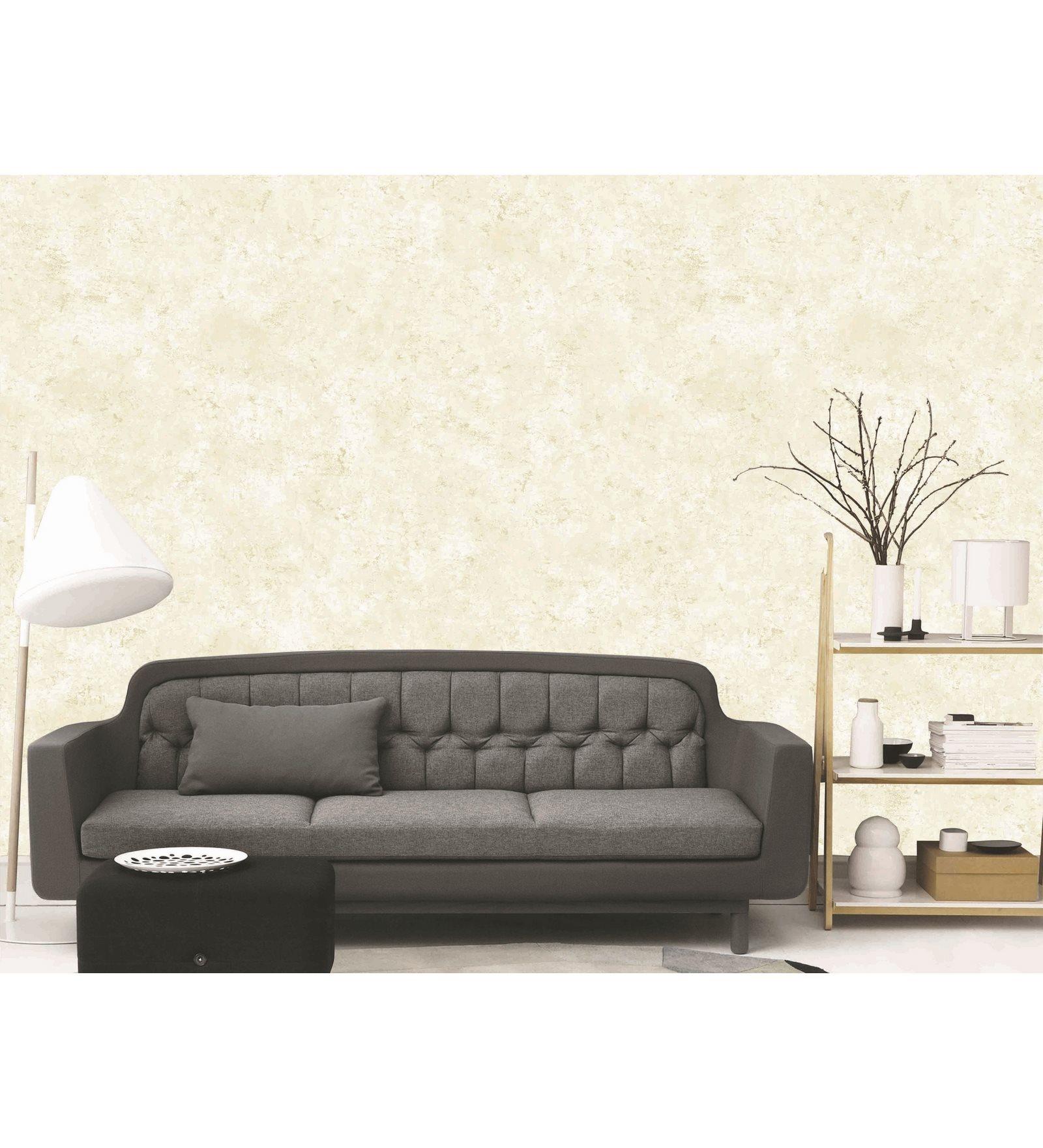White PVC 394 x 21 Inch Wallpaper by Presto