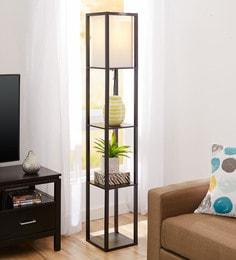 White Acrylic Floor Lamp - 1651893