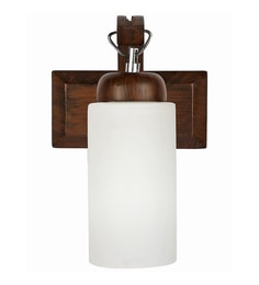 Downward wall mounted lights buy downward wall lights online in white glass and wood wall light aloadofball Gallery