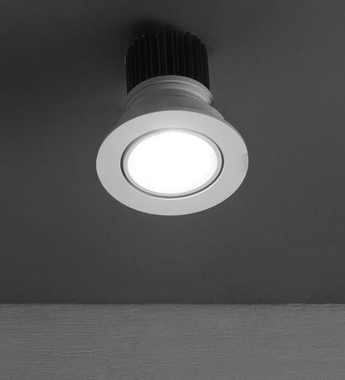 White Led Down Light X1105 By Learc Lighting
