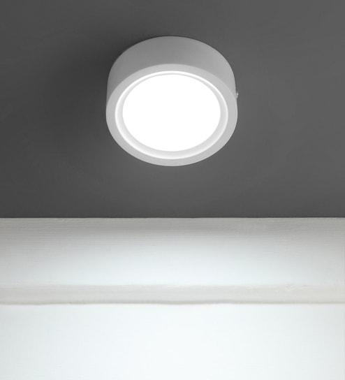 White Led Panel Light Surface B1056 By Learc Lighting
