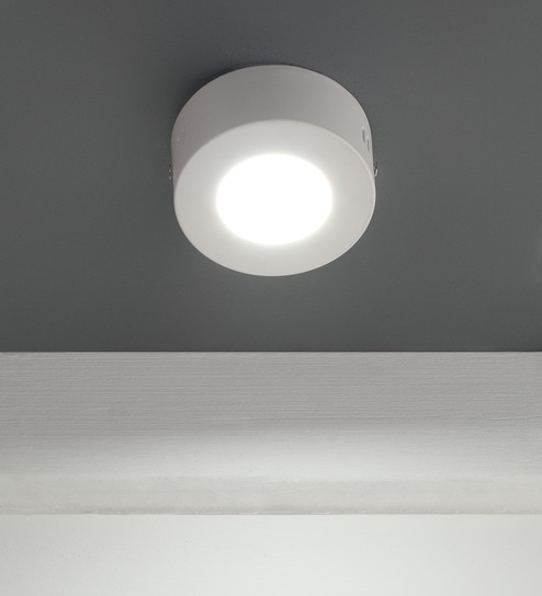 White Led Panel Light Surface B1062 By Learc Lighting
