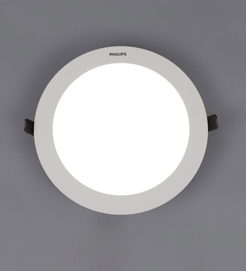 Buy white plastic astra prime 15 w recessed ceiling light by white plastic astra prime 15 w recessed ceiling light by philips mozeypictures Gallery