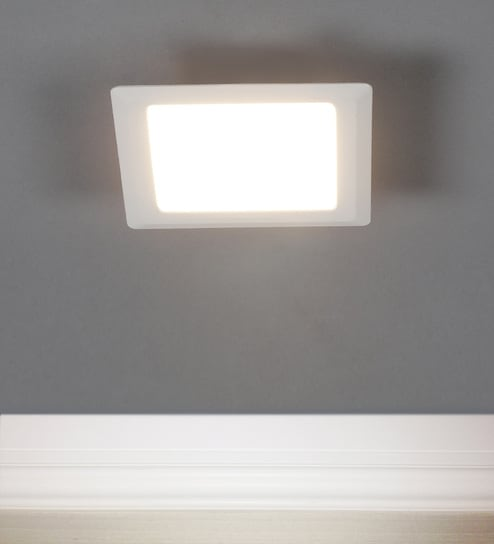 the best attitude 61b23 1d952 Warm White RDL-S-5W-3K Square LED Panel Light by Syska