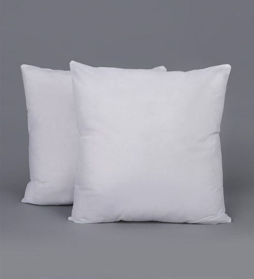Buy Polyester 20 X 20 Inch Cushion Insert Set Of 2 By Swhf Online