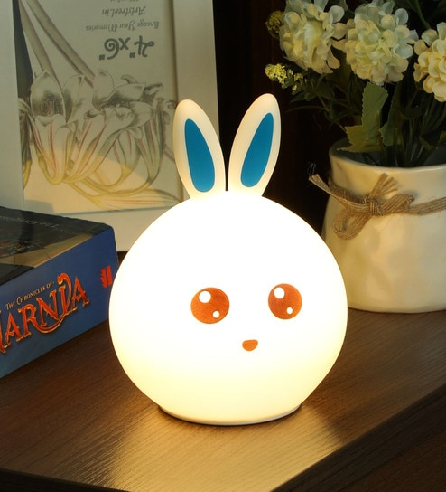 Buy White Silicone Clap The Lamp Induction Led Night Lamp By Zahab