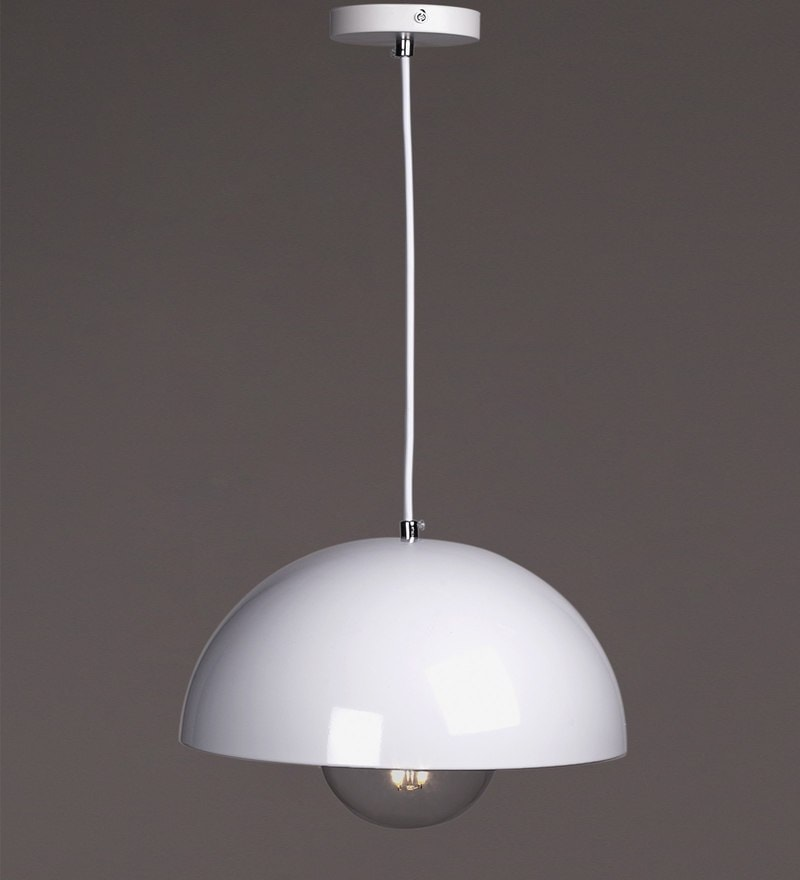 White Metal Pendant by Voylite
