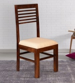 Winona Ivy Dining Chair in Provincial Teak Finish